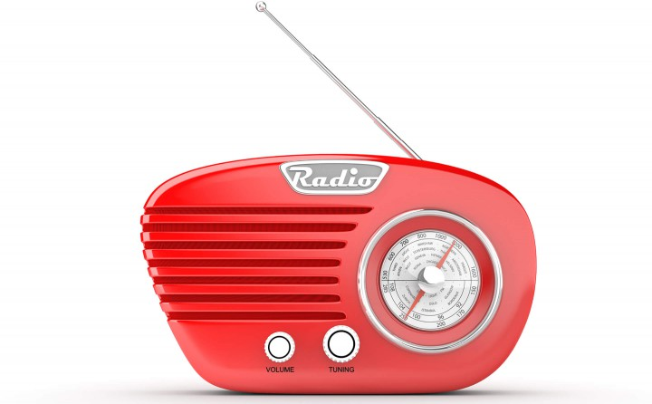 Photo of art deco radio
