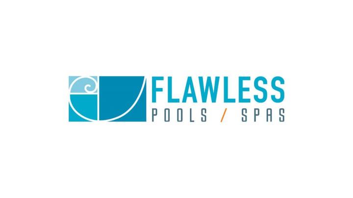 Flawless Pools logo