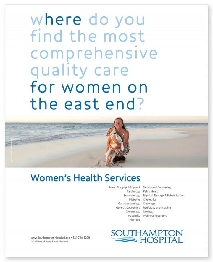 Southampton Hospital ad