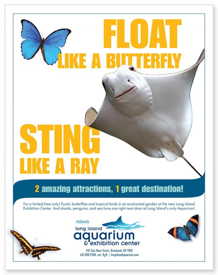 Long Island Aquarium ad