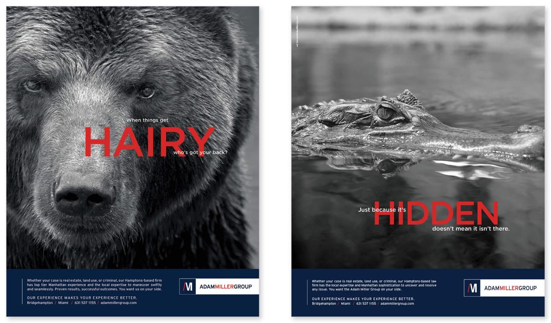 Adam Miller print ads