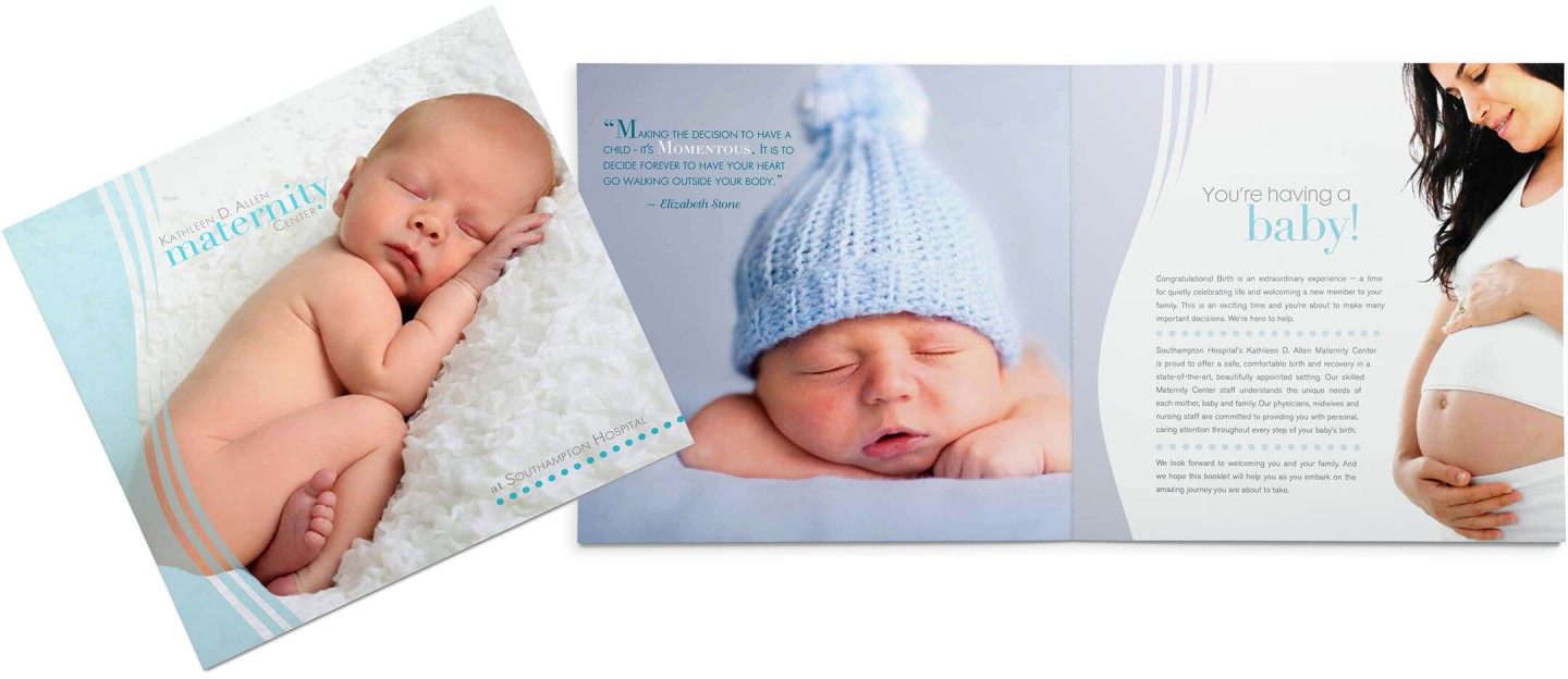 Southampton Hospital maternity brochure