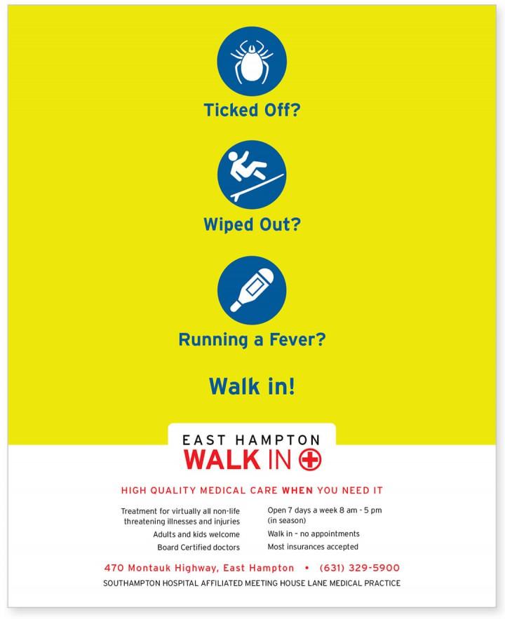 Southampton Hospital print ad