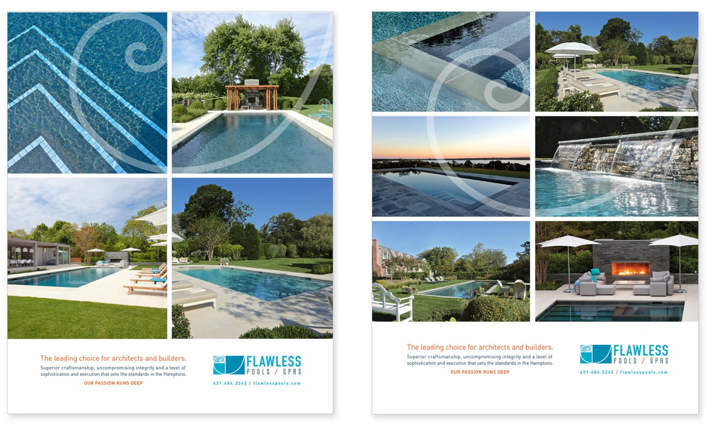 Flawless Pools brochure