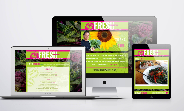 Fresh website