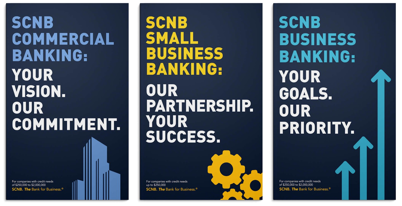 SCNB print ads