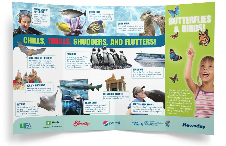 Long Island Aquarium brochure