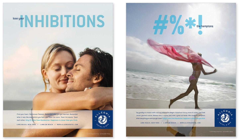 Allegria Hotel print ads