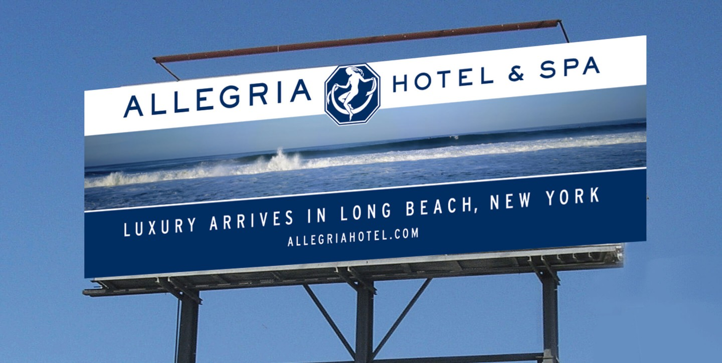 Allegria Hotel billboard