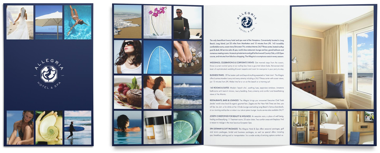 Allegria Hotel brochure