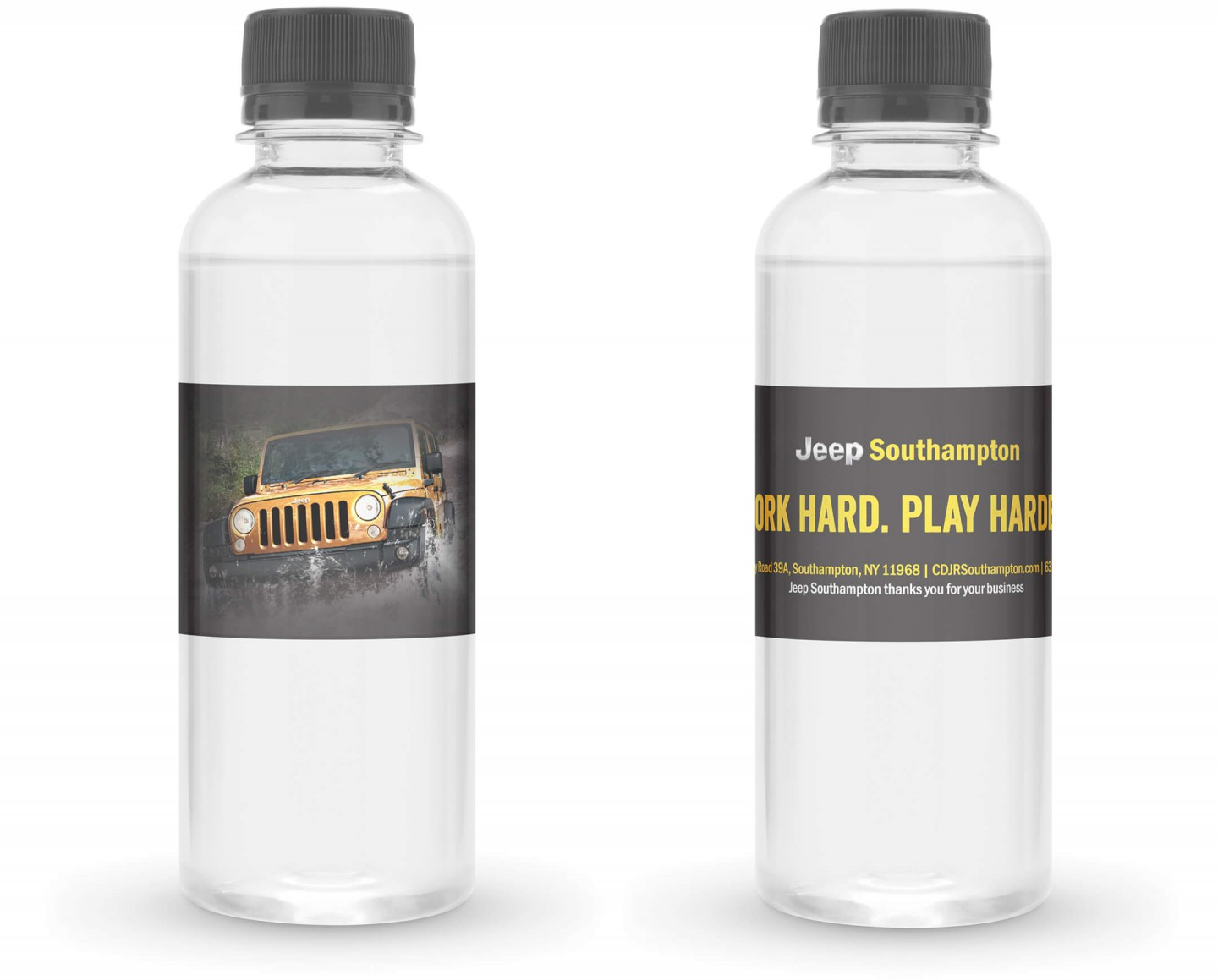 Jeep Southampton water bottle design