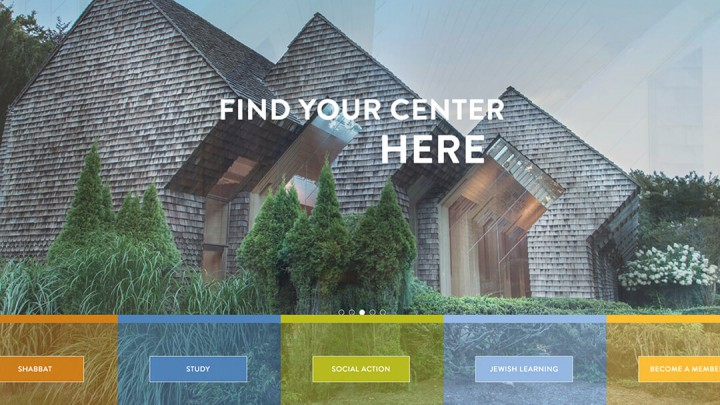 Jewish Center of the Hamptons website
