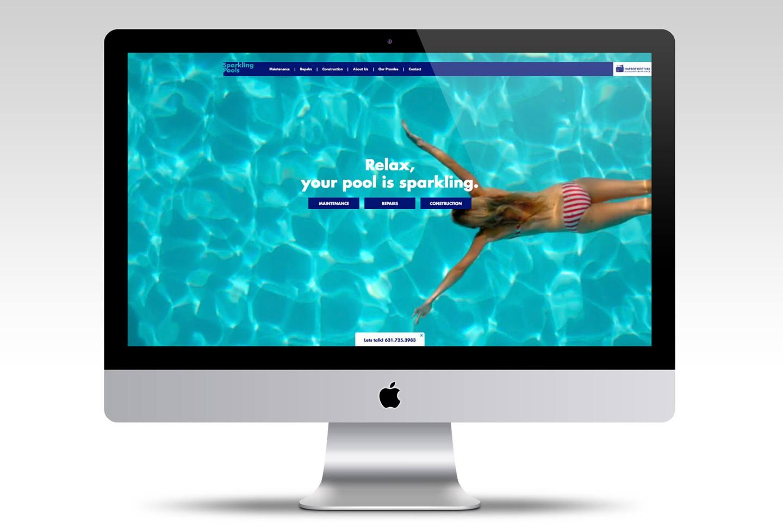 Sparkling Pools website