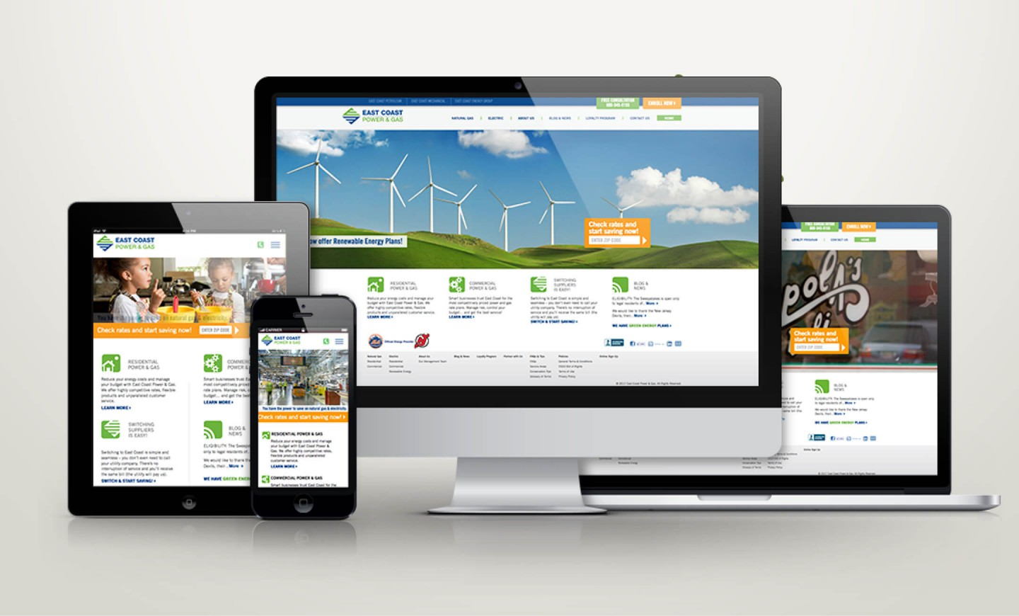 East Coast Energy Group website