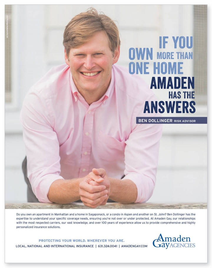 Amaden Gay Agencies print ads