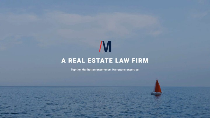 web design for Hamptons law firm, Adam Miller Group