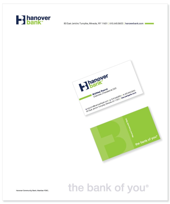 Hanover Bank collateral