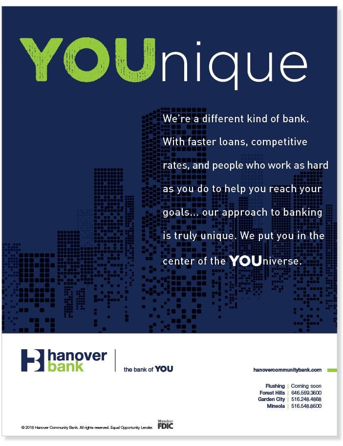 Hanover Bank ad