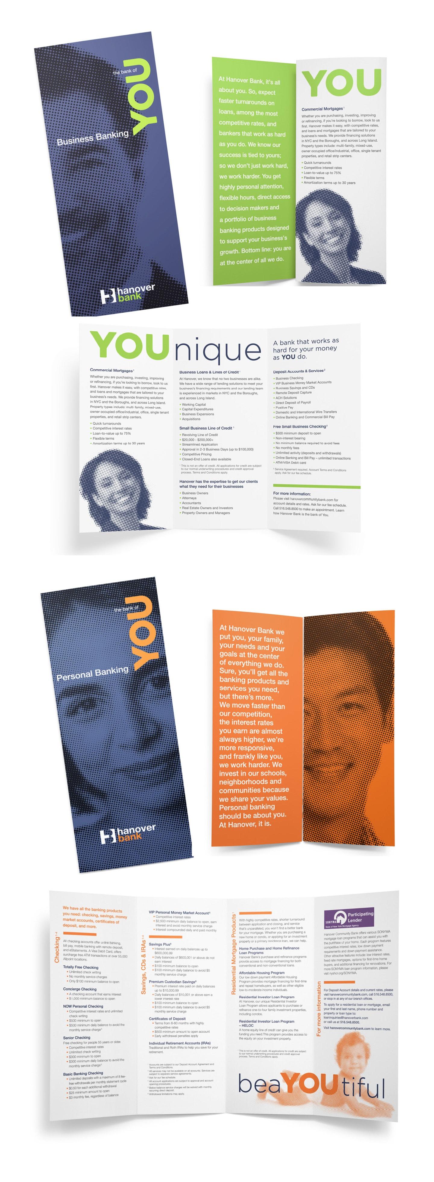 Hanover Bank brochure